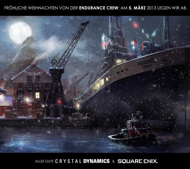 Lara's Generation, Square Enix & Crystal Dynamics wünschen Frohe Weihnachten!