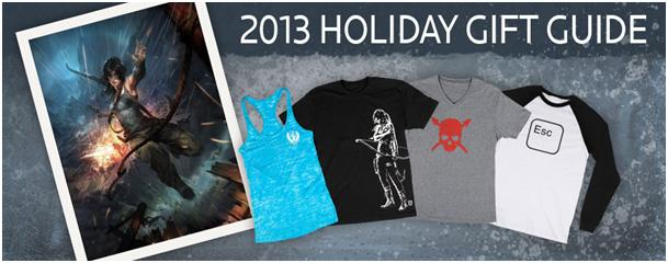 Geschenkideen im Tomb Raider Shop