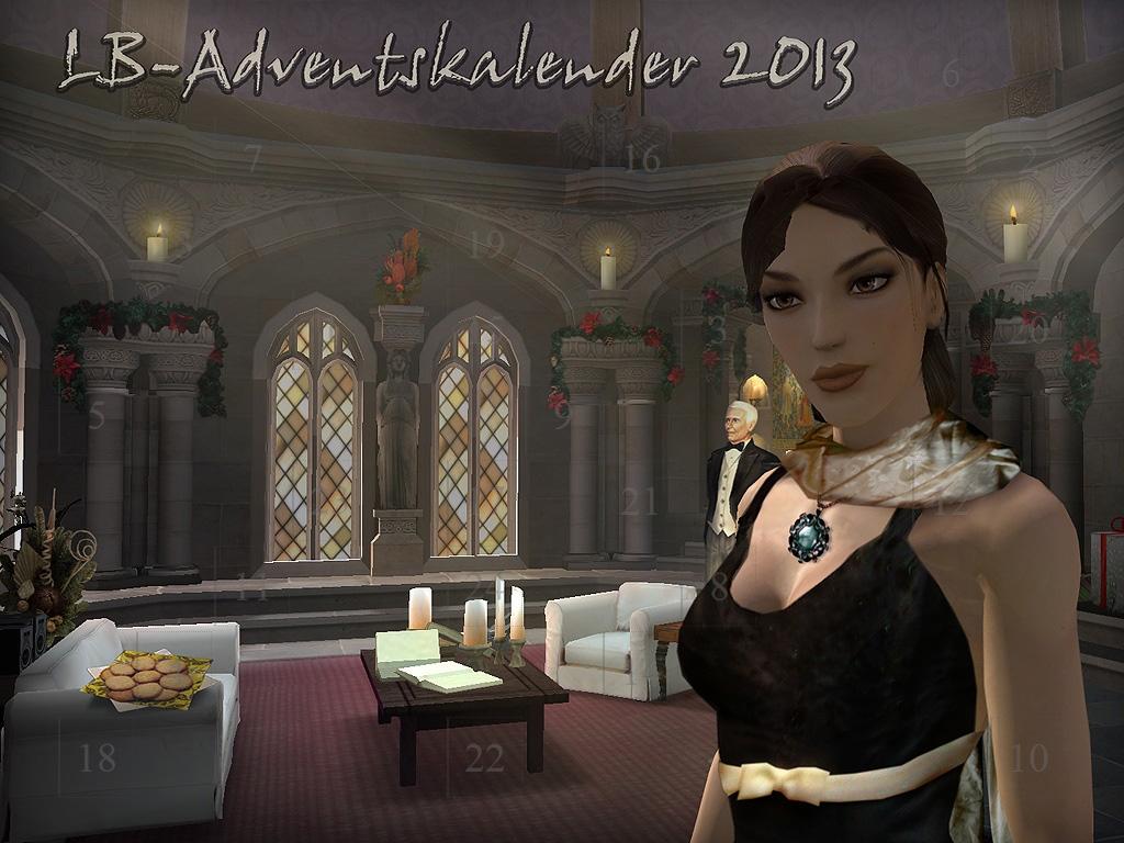 Der Adventskalender von Lara's Levelbase hat 24 Türchen